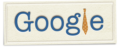 Google Logo: Happy 2011 Father's day! In France and in some other countries